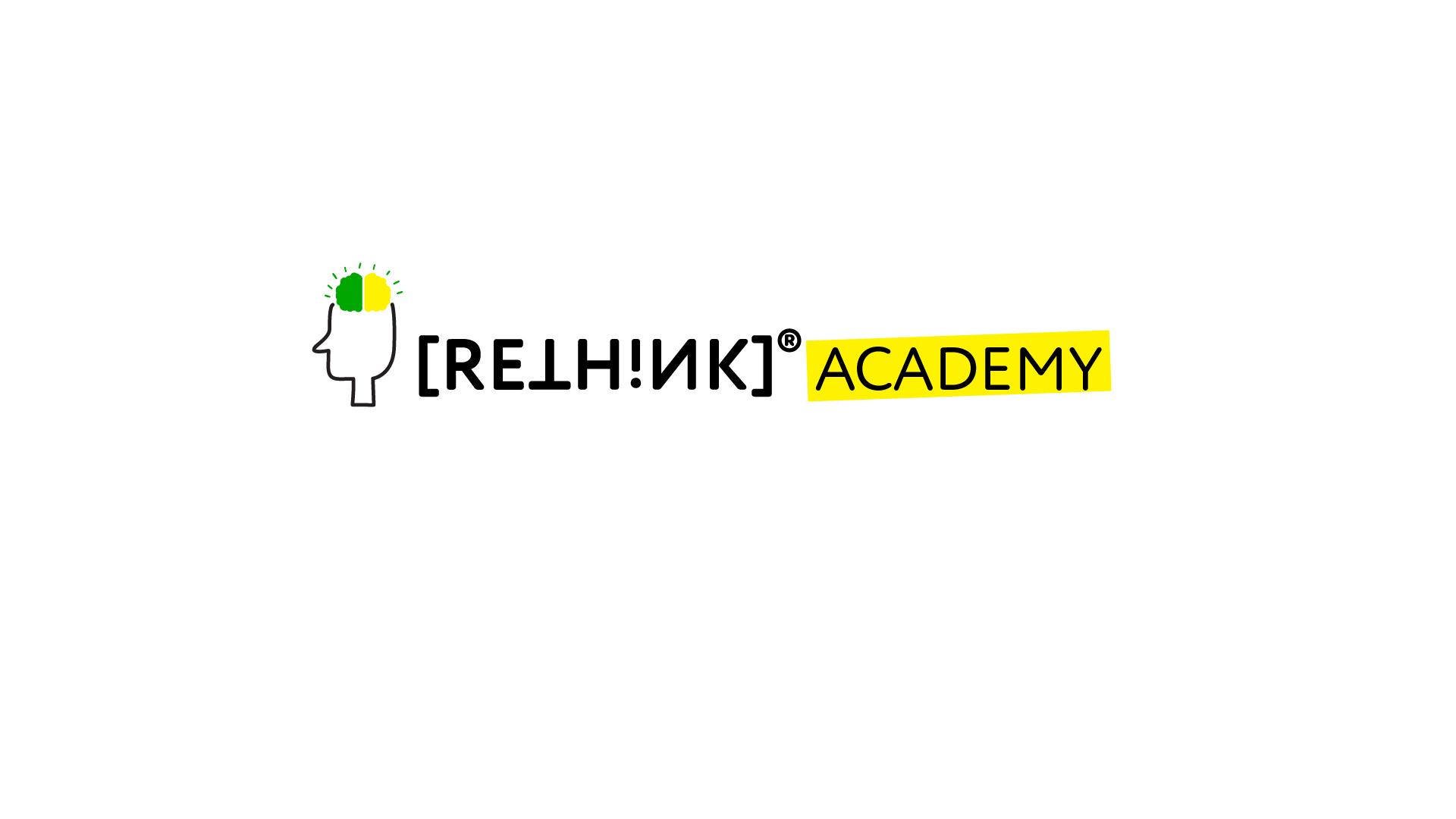 logo [RETHINK]™ Academy