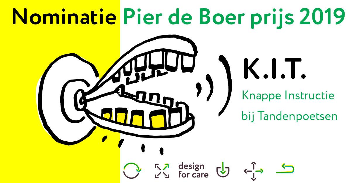 nominatie Pier de Boer prijs 2019