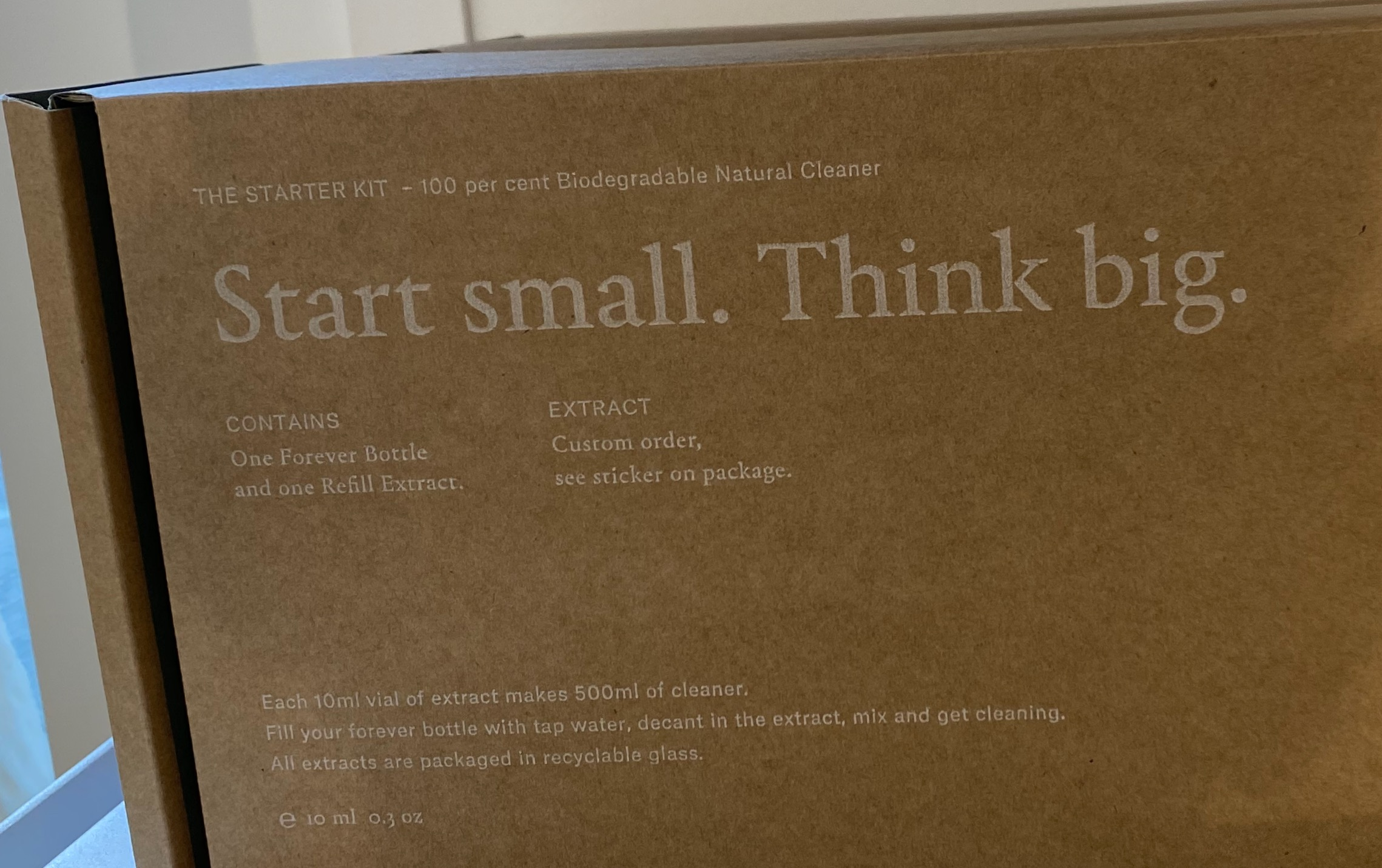 Start Small. Think Big